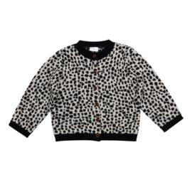 Snow leopard Cardigan, Maed for Mini