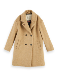 Oversized Wool Coat, scotch R' belle