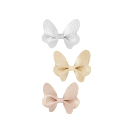 Metallic butterfly clip set, Mimi & Lula