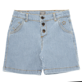 Striped denim short, Tocoto Vintage