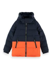 Hooded jacket, scotch Shrunk