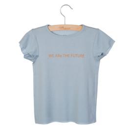 T-shirt Dean Print Blue fog print, Little Hedonist