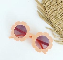 Flower zonnenbril salmon , feestbeest