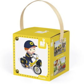 Lovely puzzel Matteoś fiets, Janod