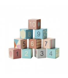 Wooden Blocks Edvin , Kidsconcept