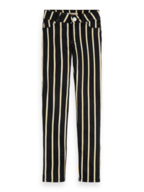 Skinny fit pants stripes , Scotch R' belle