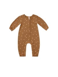 Woven jumpsuit Walnut, Quincy Mae