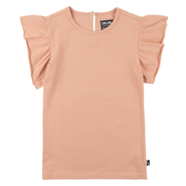 Ruffled short sleeve top, CarlijnQ