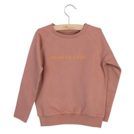 Sweater Caecilia print Burlwood, Little Hedonist