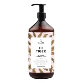 Hi Tiger handzeep, Giftlabel