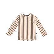 Longsleeve Toffee stripes, House of Jamie