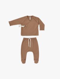 Kimono babyset Rust, Quincy Mae