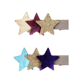 Starburst haarknipjes multi, Mimi & Lula