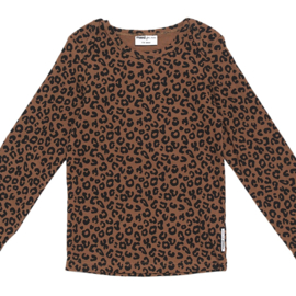 Brown leopard Longsleeve, Maed for mini