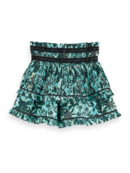 Ruffle skirt with inner short , Scotch R'belle