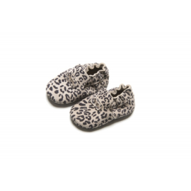 Mockies First Steps Leopard Grey