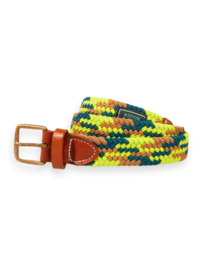 Colourful elastic belt , Scotch Shrunk