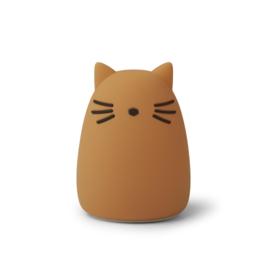 Winston Nightlight Cat Mustard Liewood