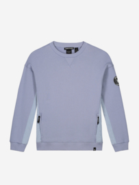 Keagan Sweater stone Blue, Nik & Nik