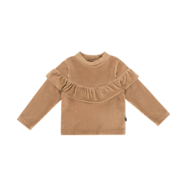 Sweater volant biscuit rib, House of Jamie
