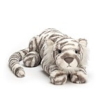 Sacha snowy tiger Really BIG, Jellycat