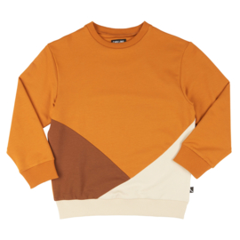 Sweater block (multi brown), CarlijnQ