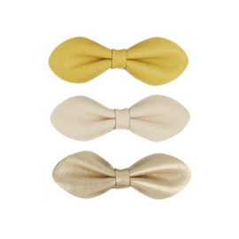 Large gracie clips mustard, Mimi & Lula