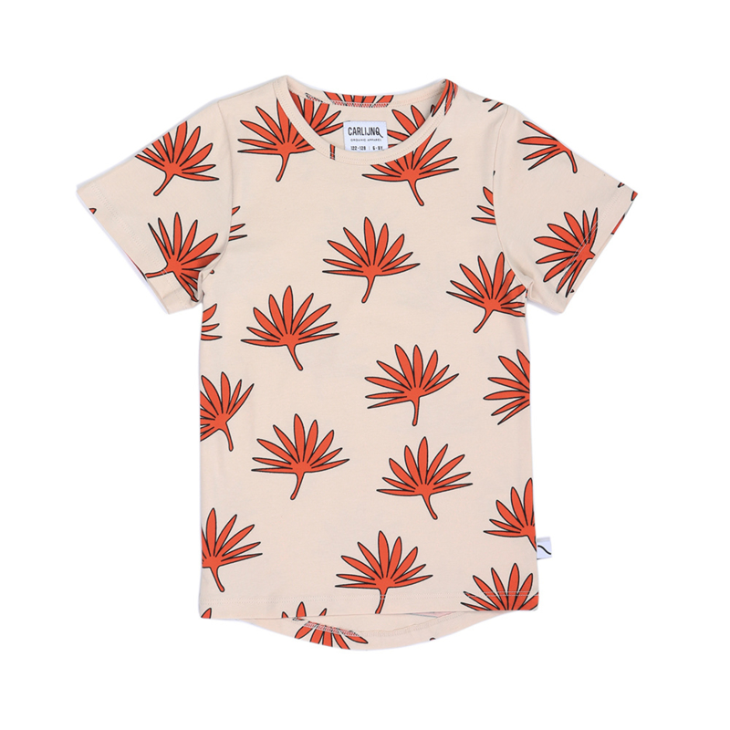 T-shirt palm leaf, CarlijnQ