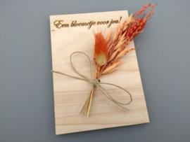 Een bloemetje voor jou