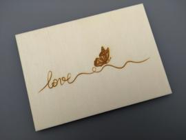 Love, vlinder