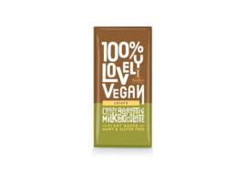 Melkchocolade met crips, vegan
