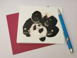 Rollende Panda