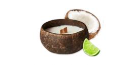 Kokosnootkaars kokos-limoen