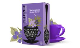 Zwarte bessen & acaibessen infusie thee
