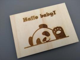 Hallo baby, panda