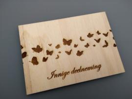 Innige deelneming, vlinders