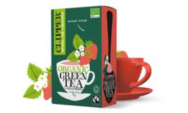 Groene thee & aardbei