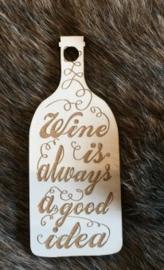 Cadeaulabel wijn
