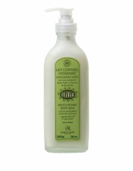 Hydraterende lichaamsmelk met olijfolie & groene mandarijn