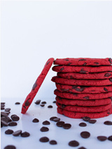 Kraakverse koeken Red velvet