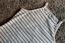 JDY - Nevada life strap top cloud dancer stripes