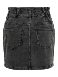 JDY - Signe life paperwaist skirt black denim