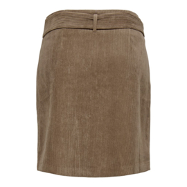 JDY - Hong button corduroy skirt falcon