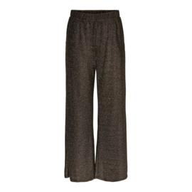 JDY - Pica wide pant black gold lurex
