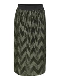 JDY - Maci pleated skirt forest night
