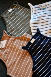 JDY - Nevada life strap top kalamata many stripes