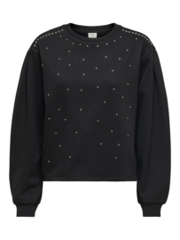 JDY - Basa stud sweat black