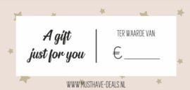 Musthave Deals giftcard €10