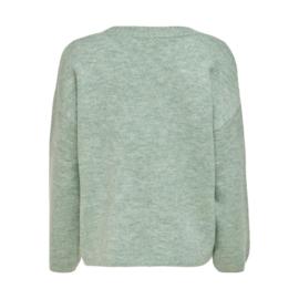 JDY - Rubi pullover granite green
