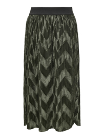 JDY - Maci pleated skirt forest night